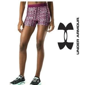 {BOGO} Under Armour Purple Alpha Short Tights